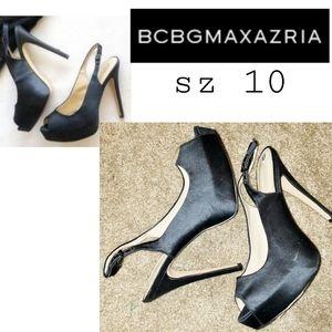 "Bcbgmaxazria ""Cindi"" platform heels. Sz 10. $298"